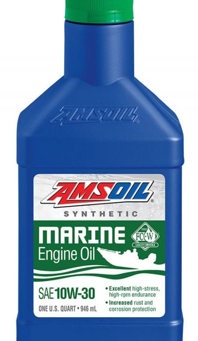AMSOIL 10W-30 Synthetic Marine Engine Oil
