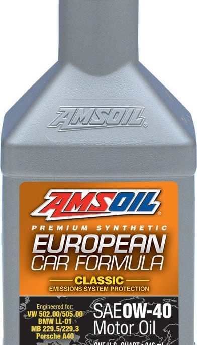 European Car Formula 0W-40 Classic ESP Synthetic Motor Oil