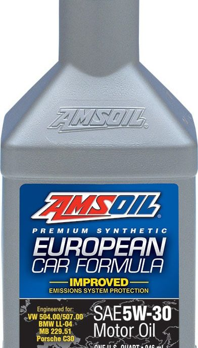 European Car Formula 5W-30 Improved ESP Synthetic Motor Oil
