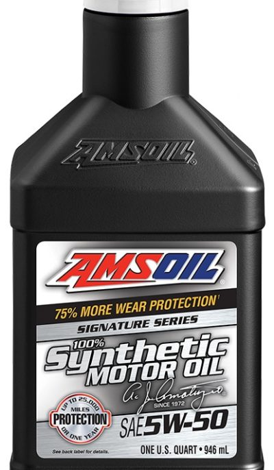 Signature Series 5W-50 Synthetic Motor Oil A New Level of Motor Oil Technology
