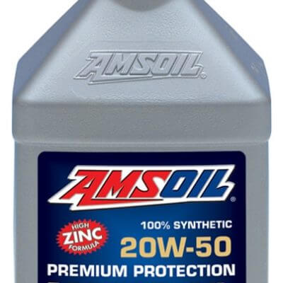 AMSOIL Premium Protection 20W-50 Synthetic Motor Oil