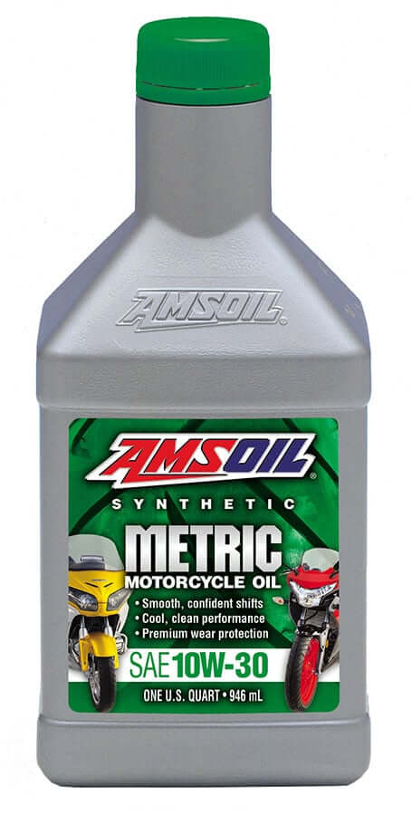 Amsoil 10W-30 Synthetic Metric Motorcycle Oil