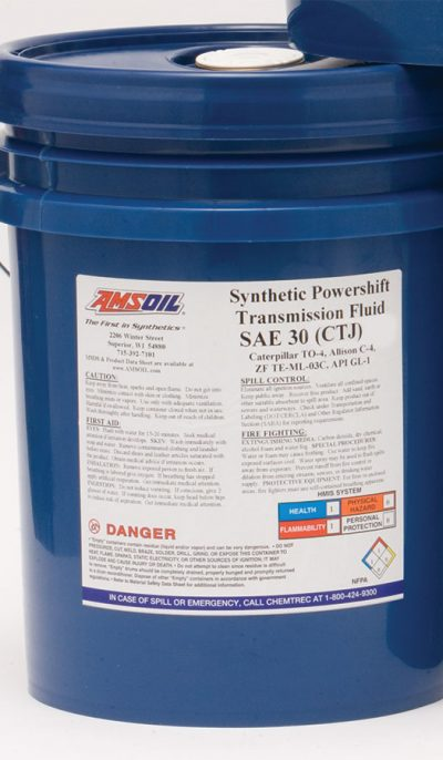 Amsoil Synthetic Powershift Transmission Fluid SAE 30