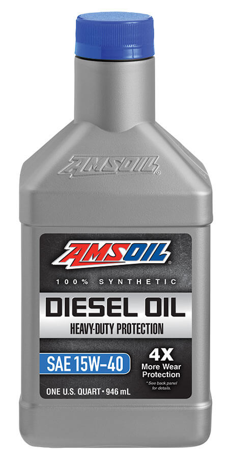 Amsoil Heavy-Duty Synthetic Diesel Oil 15W-40