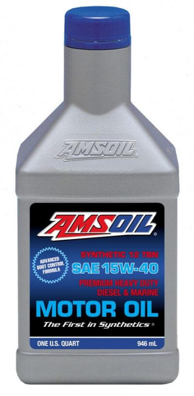 Amsoil SAE 15W-40 Heavy-Duty Diesel and Marine Oil AME