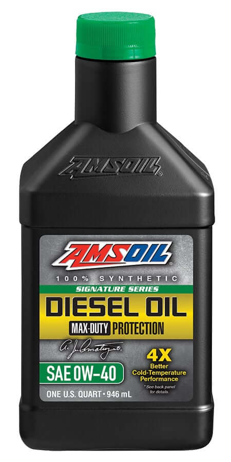 Amsoil Signature Series Max-Duty Synthetic Diesel Oil 0W-40