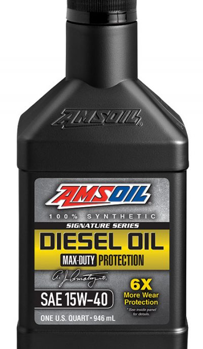 Amsoil Signature Series Max-Duty Synthetic Diesel Oil 15W-40